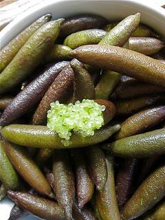 Fingerlime : Citrus caviar