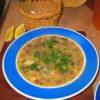 Lamb, bean and barley soup