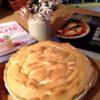 Lime-Papaya Meringue Pie