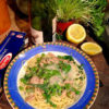 Pasta with tuna, lemon and rocket – singing pasta