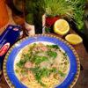 Pasta with tuna, lemon and rocket – singing pasta