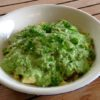 Potato, pea and mint salad