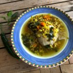 Chicken Turmeric Medicine Soup